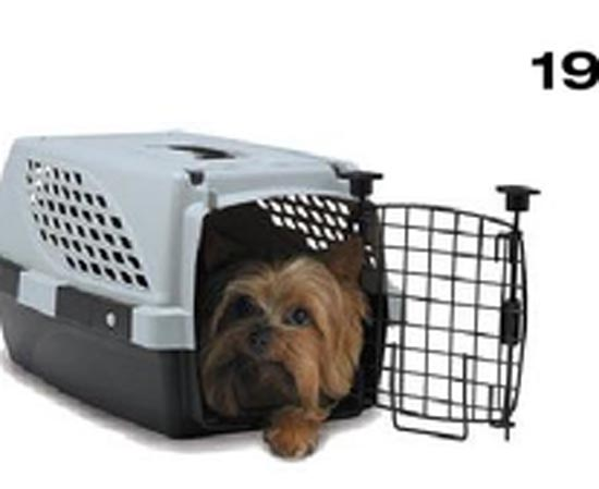 TRANSPORTADORA PET SUITE HASTA 4,5KG DOBLE PUERTA 47X31X25