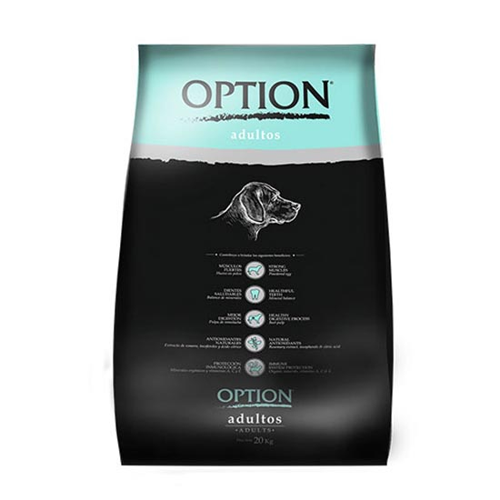 OPTION PERRO ADULTO X 20KG