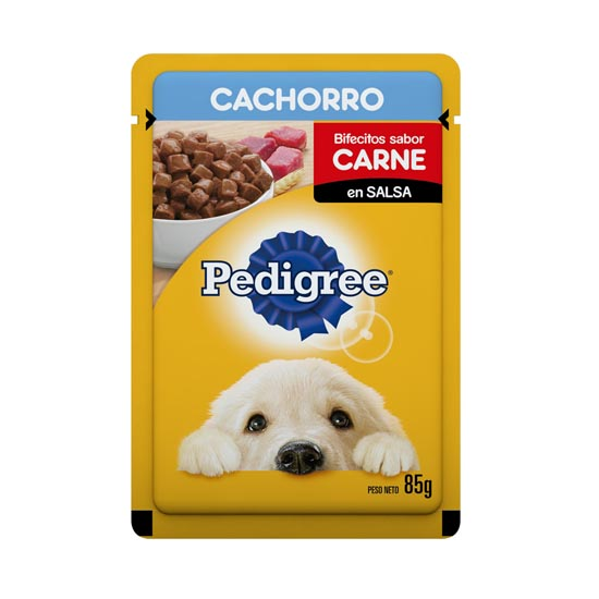 POUCH CACHORRO CARNE 85GRS.